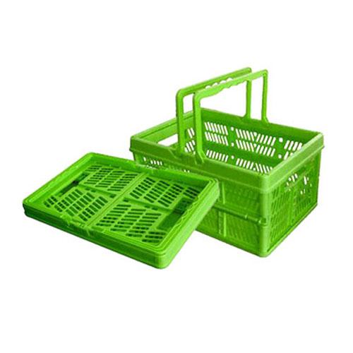 plast folding kjøpesenter kurv med håndtak