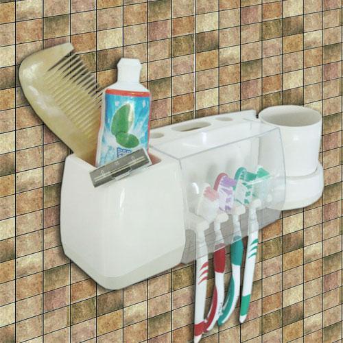 plast tannbørste holder med kopp
