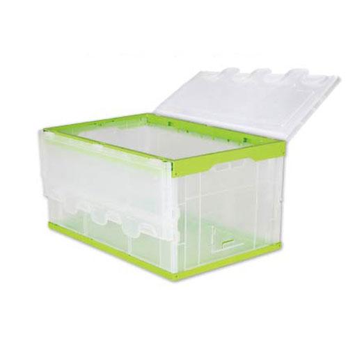 Plast sammenleggbar Container Eske Med Lokk