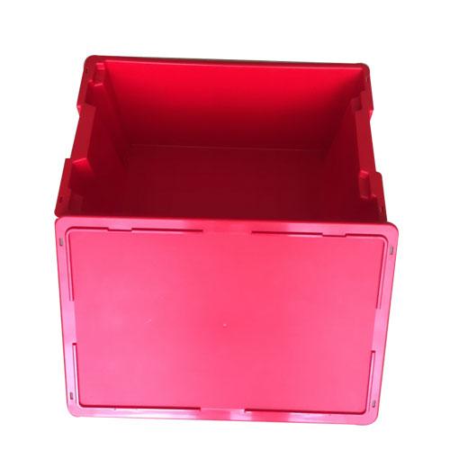 transport og Shipping sammenleggbar blå plast kasse eske